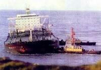 Авария танкера