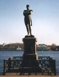 Памятник Крузенштерну в Санкт-Петербурге