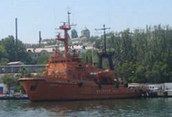 Пожарное судно Сапфир, г. Севастополь